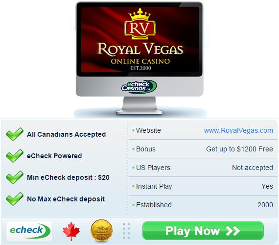 Casino echeck instant opera casino las vegas