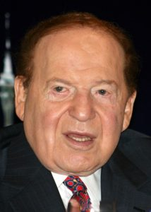 Sheldon Adelson wants to help fund a Las Vegas NFL team