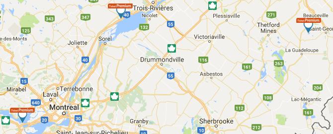 Ticket Premium Canada Locations