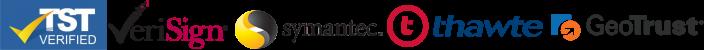 Secure SSL Certificate Logos