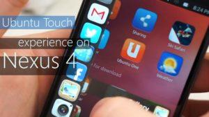 Nexus Ubuntu Mobile
