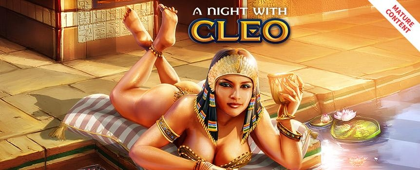 A Night With Cleo Progressive Slots Jackpot