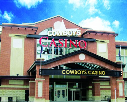 Cowboys Casino in Calgary, Alberta, Canada