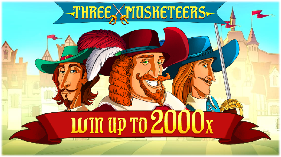 New Three Musketeers Online Slot by Red Tiger Gaming