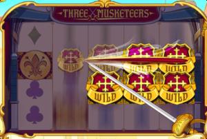 New Three Musketeers Online Slot Wild Slash