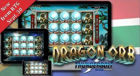 RTG Dragon Orb Thunderbolt Slot