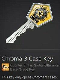 CS:GO Chroma 3 Key Video Game Gambling