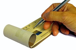 Paper Checks at Online Casinos