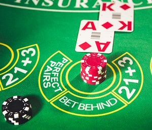 Live Dealer Blackjack Bet Behind Feature