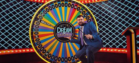 Live Dream Catcher Wheel by Evolution Gaming