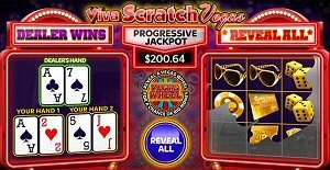 Viva Scratch Vegas Online Lottery Tickets from LotoQuebec