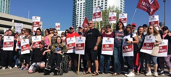 Caesars Windsor Union Workers on Strike