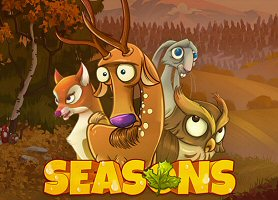 Seasons Gold Autumn Themed Online Slots