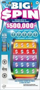 The Big Spin Lottery Ticket