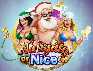 RTG launches 3rd Rendition of Naughty or Nice Christmas Slots Online