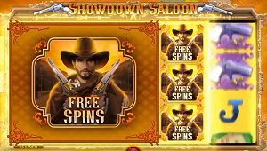 Microgaming sports Pistol-Packing Mayhem at Showdown Saloon