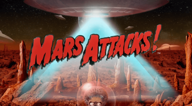Funny Online Slots Themes: Mars Attacks Slot by Blueprint Gaming