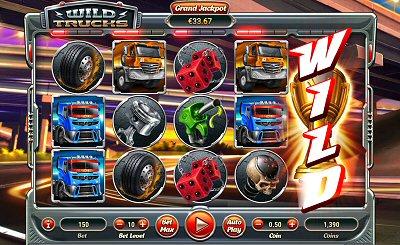 Wild Trucks Slot by Habanero Systems