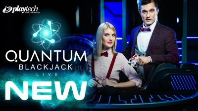 Quantum Blackjack Live featuring up to 1000x Multiplier Cards
