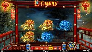 9 Tigers Slot by Wazdan Games