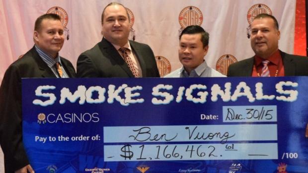 Smoke Signals Slots Jackpot pays $1.16M
