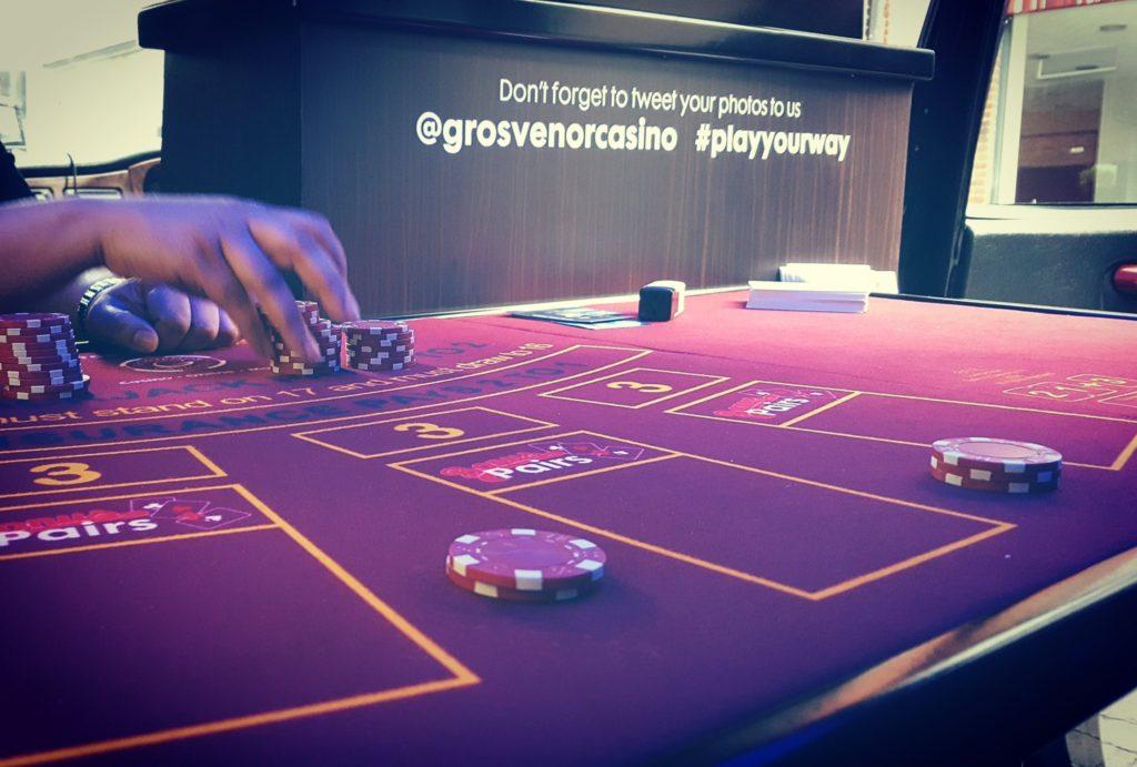 Casino Cab Gaming Table