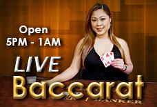 Live Dealer Baccarat at Golden Nugget Casino