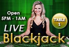 Live Dealer Blackjack at Golden Nugget Casino