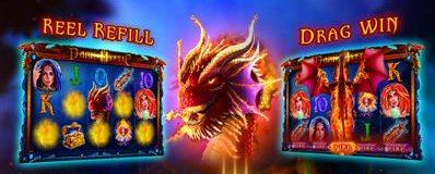 Dark Mystic Slots Bonus Feature Drag Win