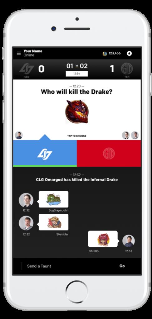 Taunt DFeS App