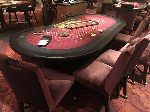 Gambling game tables up for Auction by Vancouver Casino