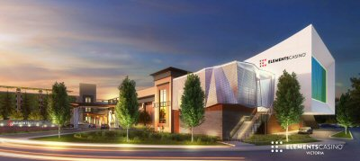 Rendering of New Slots Games Facility, Elements Casino Victoria