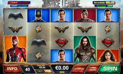 Justice League Slots Screenshot