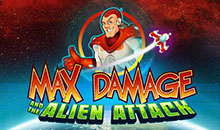 Casual Casino Games Max Damage and the Alien Attack
