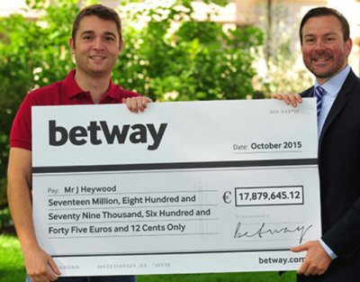 Jon Heywood World Record Progressive Slots Win