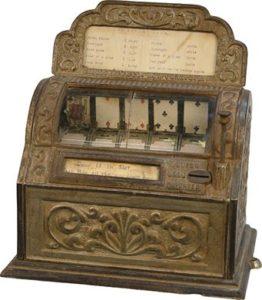 1891 First Poker Machine by Sittman and Pittman Co