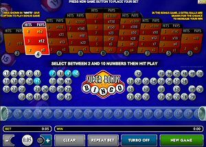 Unique Real Money Online Bingo Game Super Bonus Bingo