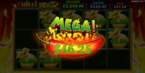 Chilli Heat Slot Money Respin Feature