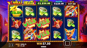 New Mobile Slots Chilli Heat