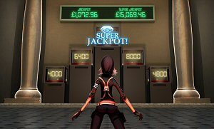 Jewel Heist Slot Super Jackpot