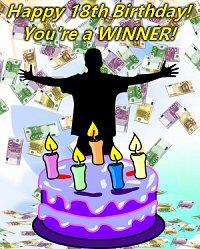 Canada Lottery Jackpot Winner on 18th Birthday